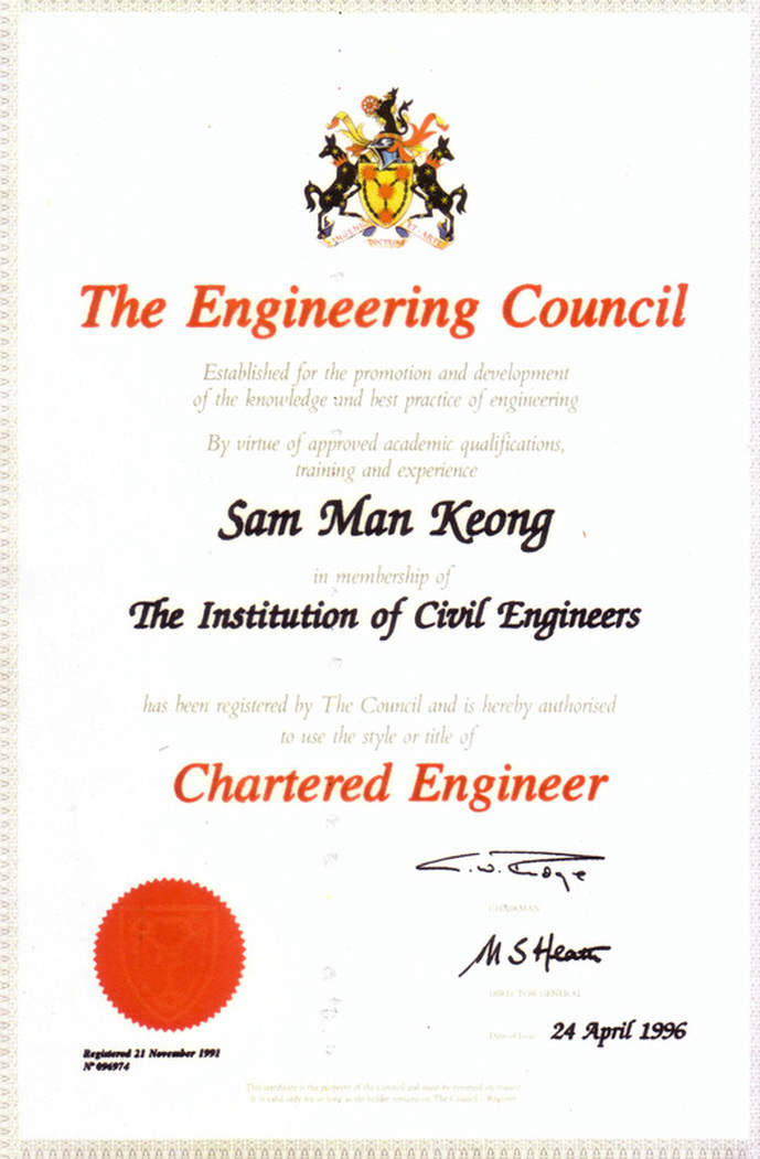 the chartered engineer standard The institution of engineers – requires pass in the standard xii examination chartered engineer government rights and privileges.